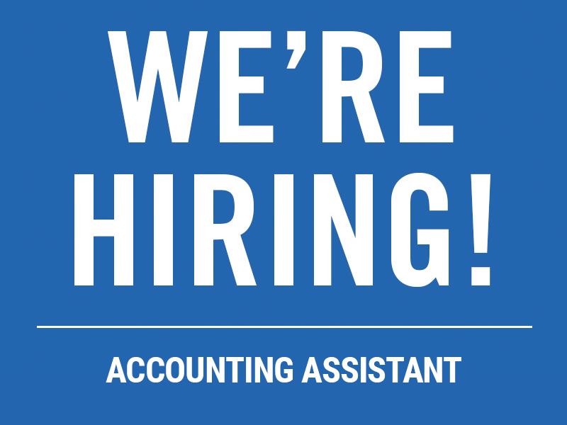 hiring accounting assistant